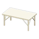 アイアンワークテーブル_ホワイト