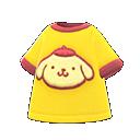 ポムポムプリンなTシャツ